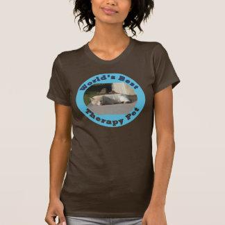 T-shirt Le meilleur animal familier de la thérapie du