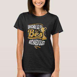 T-shirt Le meilleur archéologue du monde