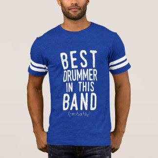 T-shirt Le meilleur batteur (probablement) (blanc)