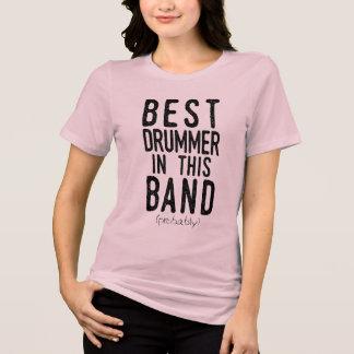 T-shirt Le meilleur batteur (probablement) (noir)