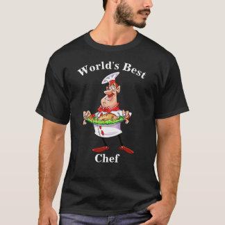 T-shirt Le meilleur chef du monde