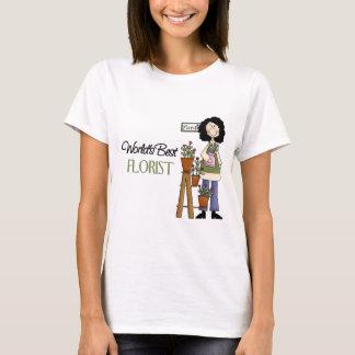 T-shirt Le meilleur fleuriste du monde