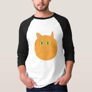 T-shirt Le meilleur habillement orange de chat