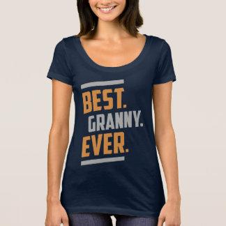 T-shirt Le meilleur. Mamie. Jamais. Tee - shirt