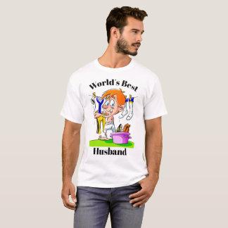 T-shirt Le meilleur mari du monde