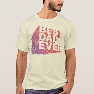 T-shirt Le meilleur motif 3D de papa jamais