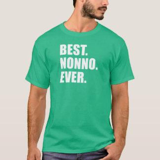 T-shirt Le meilleur. Nonno. Jamais