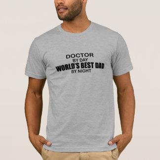 T-shirt Le meilleur papa du monde - docteur