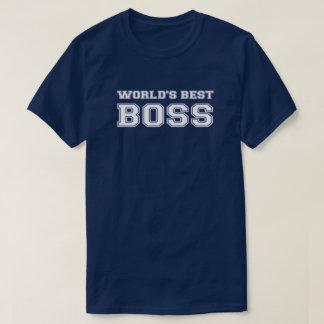 T-shirt Le meilleur patron du monde