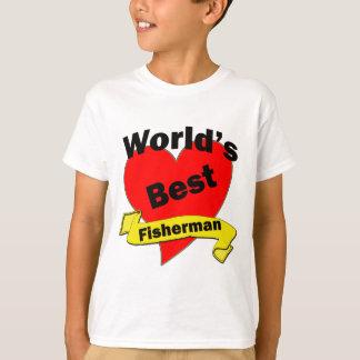 T-shirt Le meilleur pêcheur du monde