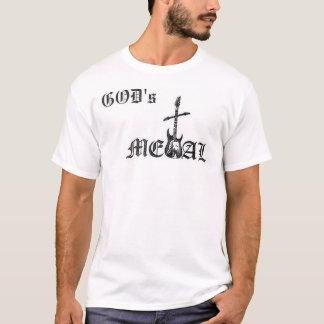T-shirt Le métal de Dieu