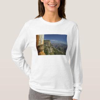 T-shirt Le Mexique, chiwawa, canyon de cuivre. Vue de