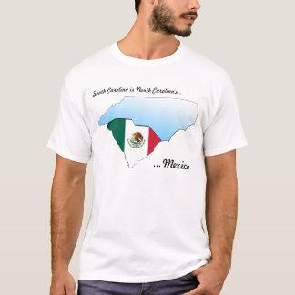 T-shirt Le Mexique de la Caroline du Nord