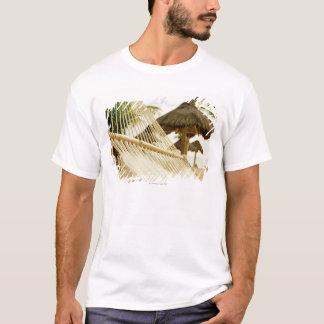 T-shirt Le Mexique, Playa del Carmen, hamac sur la plage