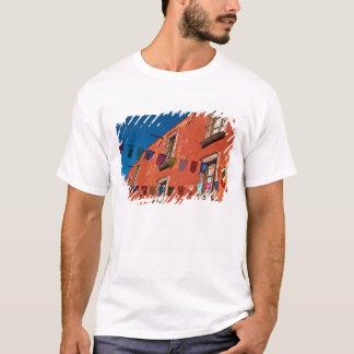 T-shirt Le Mexique, San Miguel de Allende. Bannières