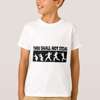 T-shirt Le mille ne volera pas, noircir