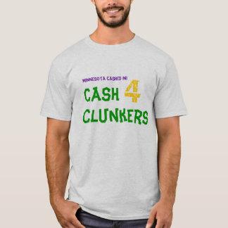T-shirt Le Minnesota a encaissé dedans ! , Encaissez 4 tas