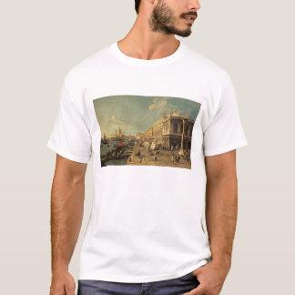 T-shirt Le Molo et le Zecca, Venise (huile sur la toile)