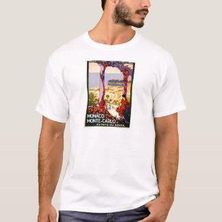 T-shirt Le Monaco. Monte Carlo. L'Au paye du soleil