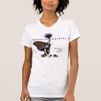 T-shirt Le monarque fait du jardinage chemise d'usine de