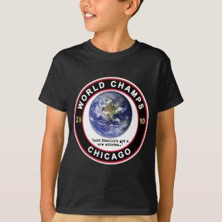 T-shirt Le monde de Chicago mâche 2010 - des fans d'hockey