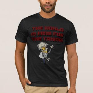 T-shirt Le monde est le mien