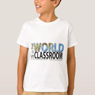 T-shirt Le monde est ma salle de classe