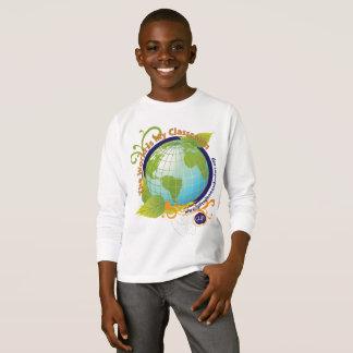 T-shirt Le monde est ma salle de classe - enfants