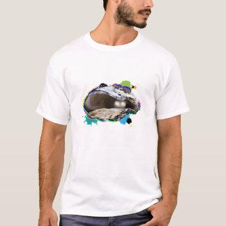 T-shirt le monde est mon huître
