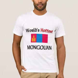 T-shirt Le Mongolian le plus chaud du monde
