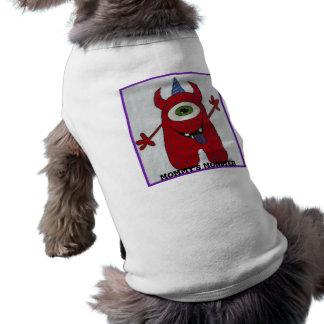 T-shirt Le monstre de la maman