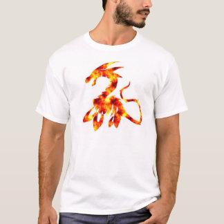 T-shirt Le monstre de Loch Ness, édition du feu