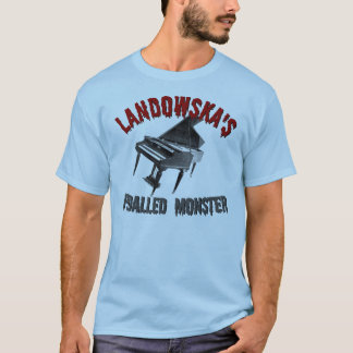 T-shirt Le monstre pédalé de Landowska