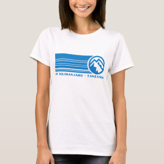 T-shirt Le mont Kilimandjaro Tanzanie