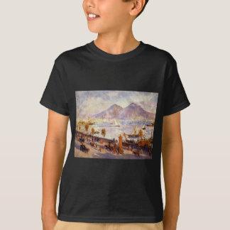 T-shirt Le mont Vésuve pendant le matin par Pierre-Auguste