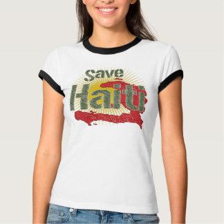 T-shirt Le montant va à la CROIX-ROUGE - économies Haïti