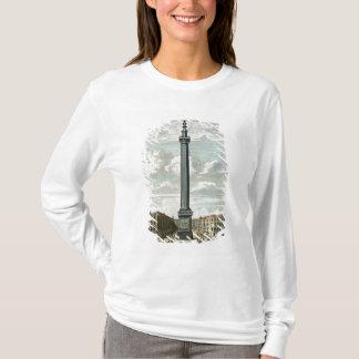 T-shirt Le monument, gravé par William Henry Toms (c.17