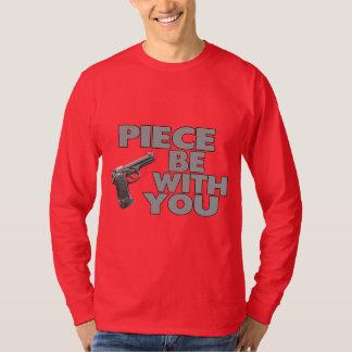 T-shirt Le morceau soit avec vous