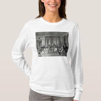 T-shirt Le napoléon donne les drapeaux gagnés chez