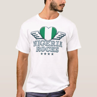 T-shirt Le Nigéria bascule v2