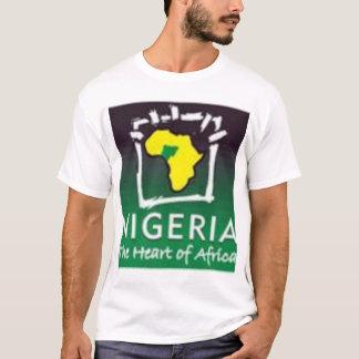 T-shirt Le Nigéria, coeur de l'Afrique