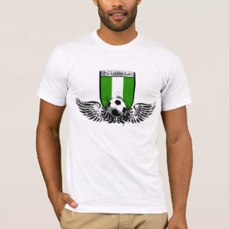 T-shirt Le Nigéria s'est envolé le bouclier d'emblème du
