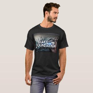 T-shirt Le noir de base T des hommes
