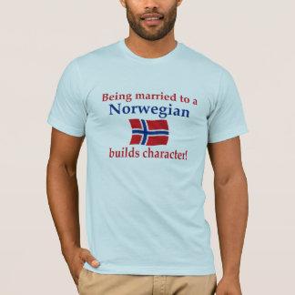 T-shirt Le Norvégien établit le caractère