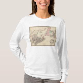T-shirt Le Nouveau Brunswick et la Nouvelle-Écosse