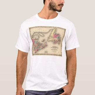 T-shirt Le Nouveau Brunswick, la Nouvelle-Écosse,