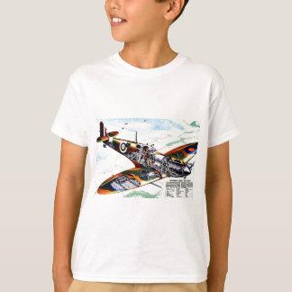T-shirt Le nouveau Spitfire de la Grande-Bretagne