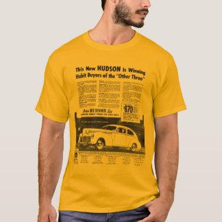 T-shirt Le nouvel or 1940 d'automobile du HUDSON