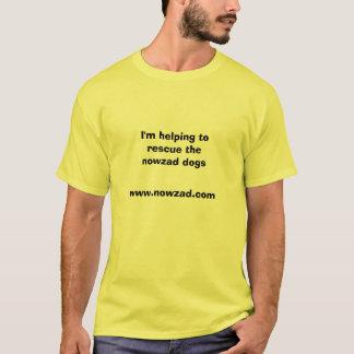 T-shirt Le Nowzad poursuit la pièce en t de charité