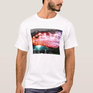 T-shirt Le nuage de bulle remélangent la collection de